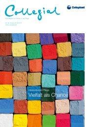 Collegial - Das Magazin für Partner in der Pflege - Coloplast