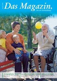 Das Magazin 3/2006 - Evangelische Heimstiftung