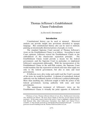 the convictions of thomas jefferson dbq I don't like the dbq so much, because i'm just not good at it, so anyone know something, please help me question: with respect to the federal.