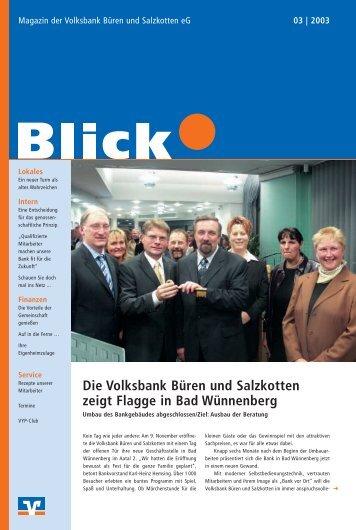 und Weihnachts-Termine - Volksbank Brilon-Büren-Salzkotten eG