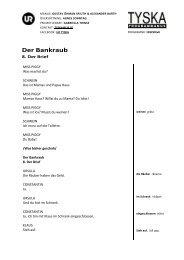 Der Bankraub - UR