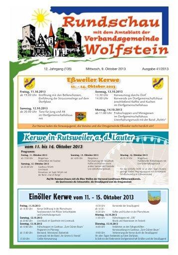 KW 41 - Verbandsgemeinde Wolfstein