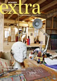 Wohnen extra 2013-3 web - Wohnbaugenossenschaften Schweiz