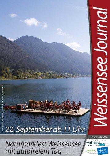 Weissensee-Journal 10/2013