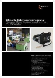 Effiziente Schwingungsmessung Robuster ... - KMO Turbo GmbH