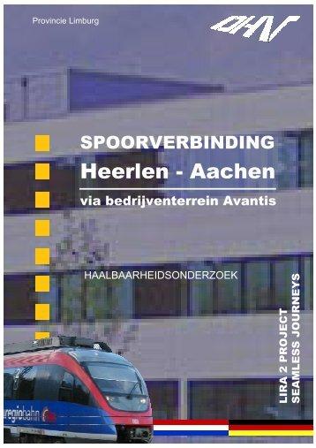 Eindrapport haalbaarheidsonderzoek spoorlijn Heerlen ... - LiRa-2