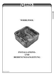 whirlpool installations- und bedienungsanleitung - BRILIX.com