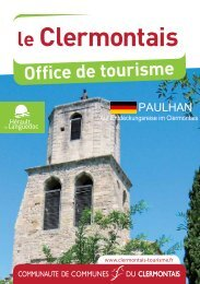 PAULHAN - Office du tourisme du Clermontais