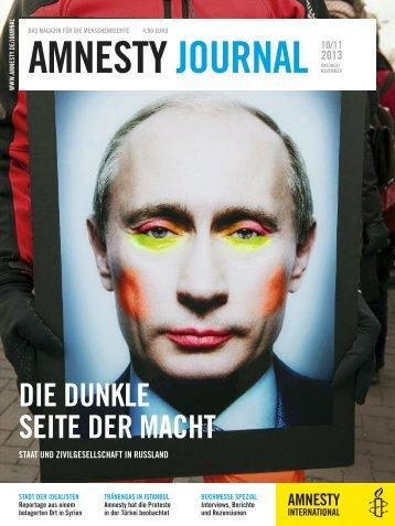 amnestyjournal1113neu.pdf (4.13 MB) - Amnesty International