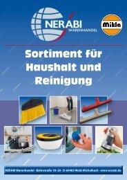 Neuer Produktkatalog! / New product catalog - Nerabi Warenhandel