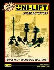 Unilift Catalogue - Independent Hydraulics Manufacturer