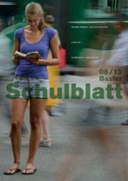 PDF - Basler Schulblatt