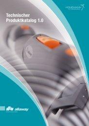 Technischer Produktkatalog 1.0 - Heinemann GmbH
