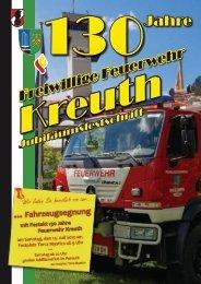 Wir danken für die Unterstützung - Freiwillige Feuerwehr Kreuth