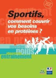 Sportifs, comment couvrir vos besoins en protéines - Insep