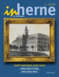HAPPY BIRTHDAY, ALTES HAUS - Stadt Herne