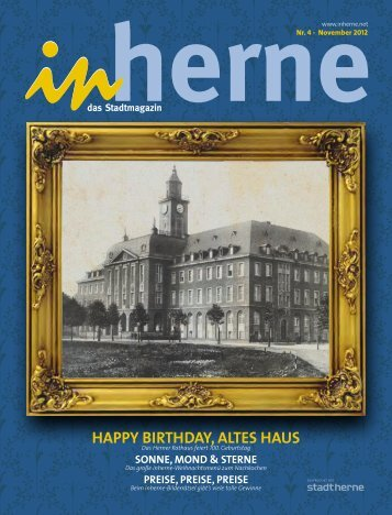 HAPPY BIRTHDAY, ALTES HAUS - Stadt Herne
