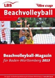 Programmheft 2013 - Beachvolleyball in Baden-Württemberg