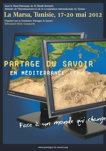 ProGrAMMES - Fondation Partager le Savoir