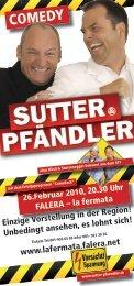 COMEDY - Sutter und Pfändler