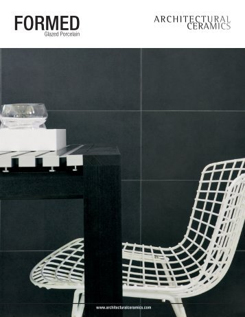 FORMED - Architectural Ceramics