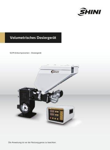 Volumetrisches Dosiergerät - Shini Europe