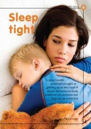 Sleep tight - Baby Sleep Problems