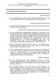 Entscheidungsleitsätze Teil II - Institut für Zivilrecht
