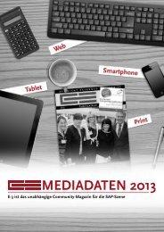MEDIADATEN 2013 - E-3 Magazin