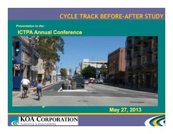 Long Beach 3rd-Broadway Protected Bikeway Before-After Study ...
