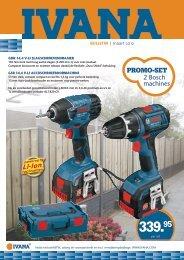 promo-set 2 Bosch machines - Het IJzerhuis