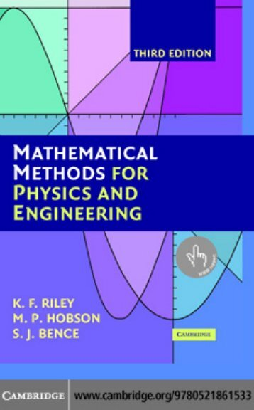 Mathematical Methods for Physics and Engineering - Matematica.NET
