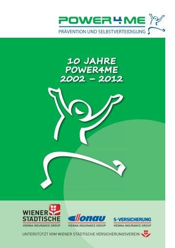 """Download Jahresbericht """"10 Jahre Power4me"""" (4,1 MB)"""