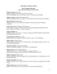 Appendix E: PUBLICATIONS - Oswego
