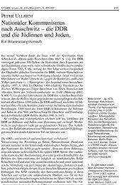 Nationaler Kommunismus nach Auschwitz - Rosa-Luxemburg-Stiftung