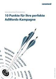 10 Punkte für Ihre perfekte AdWords-Kampagne - xeomed