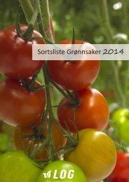 Sortsliste grønnsaker 2014 for print (pdf) - LOG AS