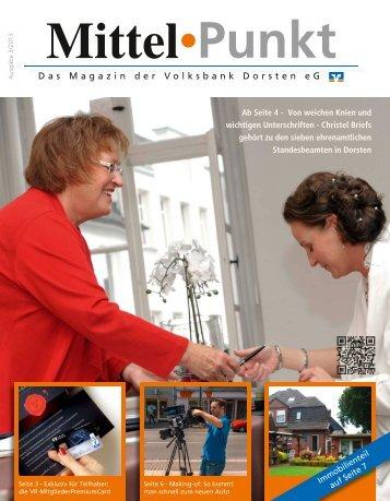 Ausgabe 3/2013 - Volksbank Dorsten eG