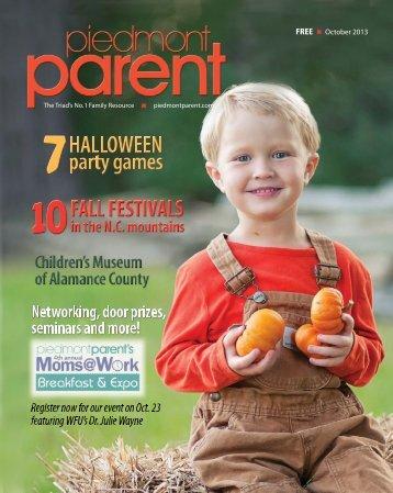 1 october 2013 - Piedmont Parent