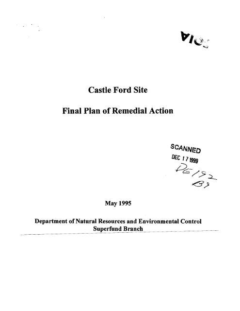 Castle Ford Final Plan.pdf - Delaware Department of Natural ...