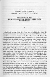 Günter Behm-Blanche Herbert Bach Adelheid Bach ZUM PROBLEM ...