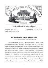 Ausgabe 22 - Deutsch-Japanische Gesellschaft DJG Lüneburg