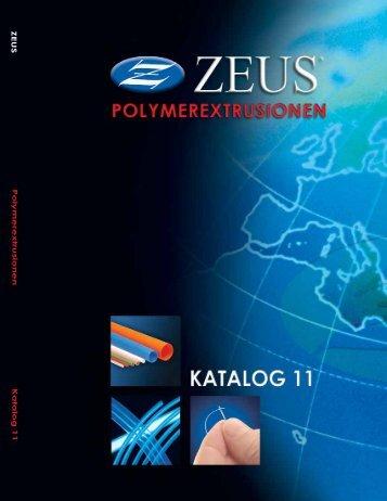 PTFE, FEP, PFA, ETFE Extrudierte Schläuche - Zeus