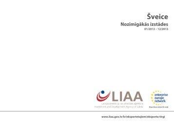 Šveice Nozīmīgākās izstādes - LIAA
