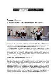 Pressestimmen_Die Weiße Rose - Junges Schauspiel Ensemble ...