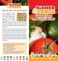 Flyer herunterladen (PDF, 600 KB) - Kichererbse - Vollwertkost ...
