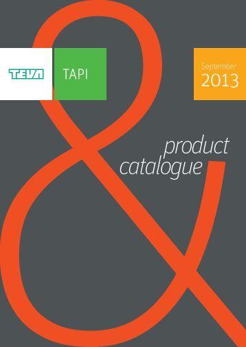 catalogue product - TAPI