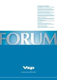 VZP Ausgabe Nr. 4 / 2008