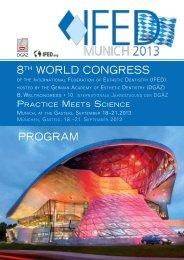 8th World Congress ProgrAM - Andreas Nolte