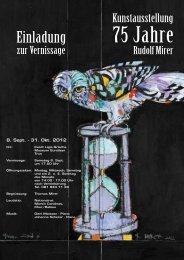 Der Maler Rudolf Mirer - Trun